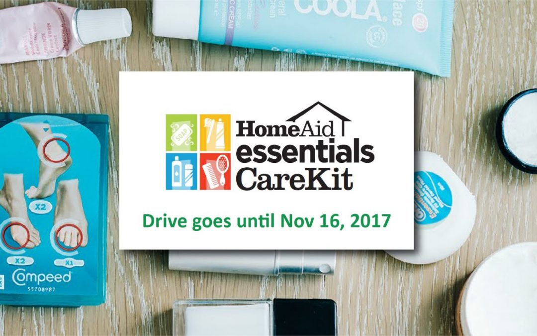 Consilium Design Office serves as a drop off location for HomeAid Essentials Drive.