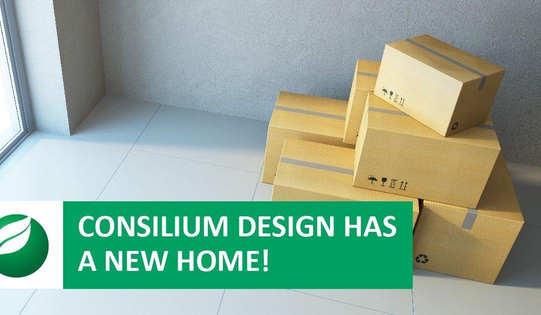 Consilium Design Has A New Home!